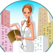 Link toStylish office people set 61 vector