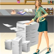 Link toStylish office people set 63 vector