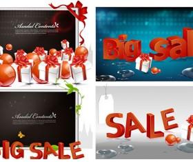 Sale style vector