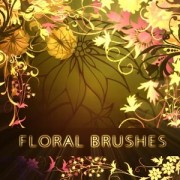 Link toCute floral photoshop brushes