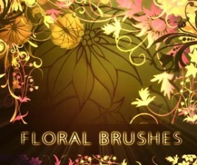 Cute Floral Photoshop Brushes