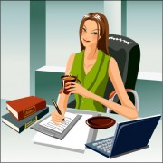 Link toStylish office people set 69 vector