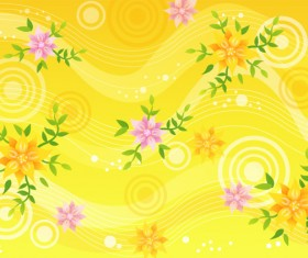 Decorative pattern background 1 Vector graphic