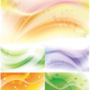 Link toAbstract aesthetic background vector art