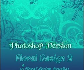 PS Floral Design Photoshop Brushes