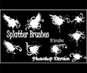 PS Splatter Photoshop Brushes