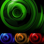 Link toHigh-tech style background vector graphic