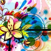 Link toVector floral background graphic