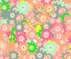 Floral colorful background