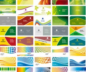 Background of the card business card vector material