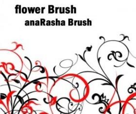 Flower Brush III  Photoshop Brushes