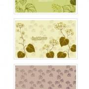 Link toPlant decorative pattern background vector