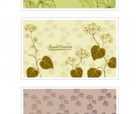 plant decorative pattern background vector