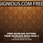 Link toContinuous decorative pattern background vector