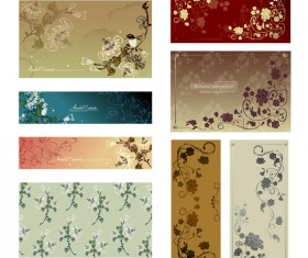 The vine decorative pattern background vector