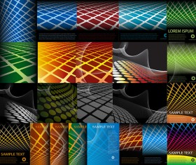 Geometric background vector graphics