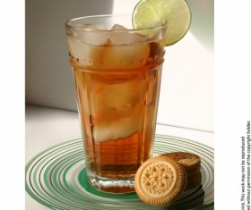 Realistic drinks vector