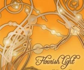 Flourish Light Photoshop Brushes