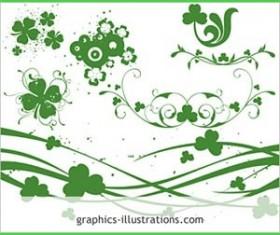 St. Patrick's Day themed Photosh Photoshop Brushes