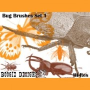 Link toHires bug 1 photoshop brushes