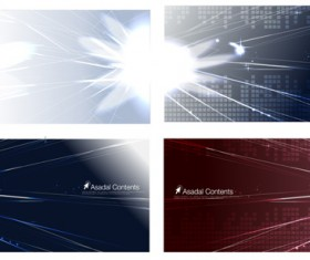 beam of light design backgrounds Vector graphic