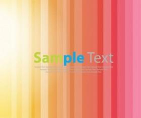Bright Stripe Design Vector Background