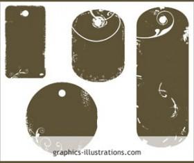Tag shapes Photoshop brushes  Photoshop Brushes