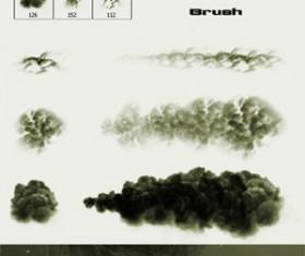 Smoke and Clouds Brush Photoshop Brushes