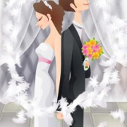 Link toSweet wedding set 79 vector