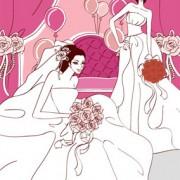 Link toSweet wedding set 86 vector