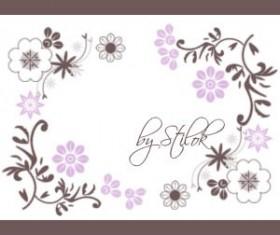 Flowers Ornaments Photoshop Brushes