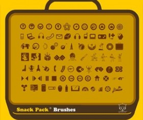 Snack Pack 01 Photoshop Brushes
