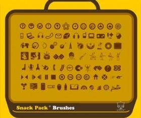 Snack Pack 01 Photoshop Brushes