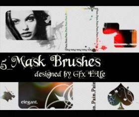 Mask Brushes  Photoshop Brushes