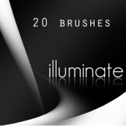 Link to20 illuminate photoshop brushes