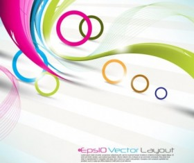 beautiful colorful art Background 02 vector