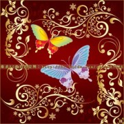 Link toButterfly flowers set of vector photoshop brushes