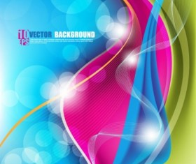 beautiful colorful art Background 03 vector