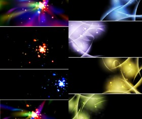 Colorful light background 01 vector material