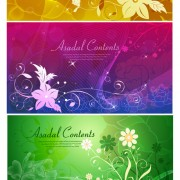 Decorative pattern background decoration vector