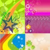 Shiny Fashion background vector