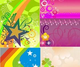 Shiny Fashion background vector