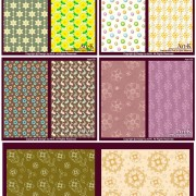 Link toLovely small decorative pattern background