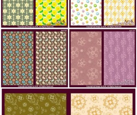 Lovely small decorative pattern background