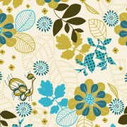 Link toThe peacock plant background vector