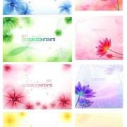 Link toFantasy flower background vector art