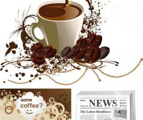 Coffee design Vector Graphic