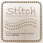 Link toStitch photoshop brushes