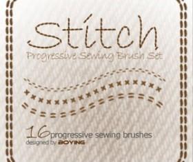 Stitch Photoshop Brushes