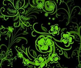 Swirly Flowers Photoshop Brushes